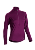 SUGOI Women's Fusion Core Zip, Boysenberry (U607000F)
