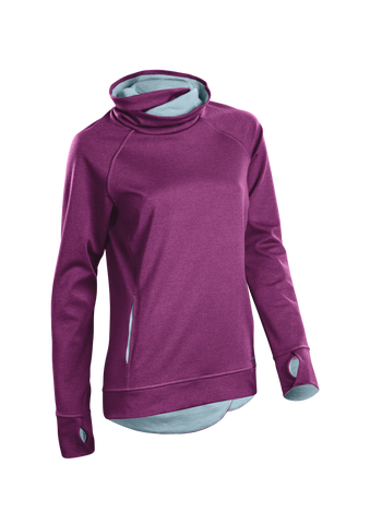 SUGOI Women's Coast Pullover, Boysenberry (U625010F)