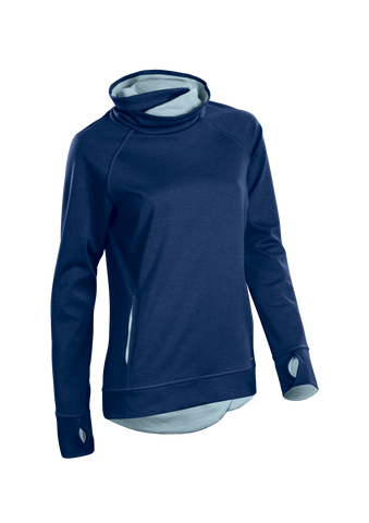 SUGOI Women's Coast Pullover, Deep Royal (U625010F)