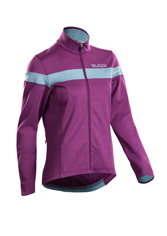 SUGOI Women's Club Jersey, Boysenberry (U675030F)