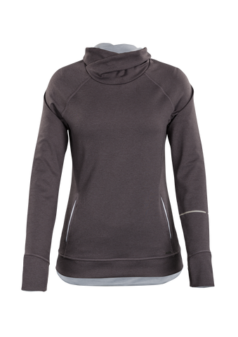 SUGOI Women's Coast Pullover, Dark Charcoal (U625010F)