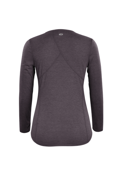 SUGOI Women's Verve Long Sleeve (L/S), Dark Charcoal Alt (U600520F)