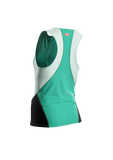 SUGOI Women's RPM Tri Tank, Light Jade (20038F)