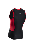 SUGOI Men's RS Tri Tank, Chili red (20664U)