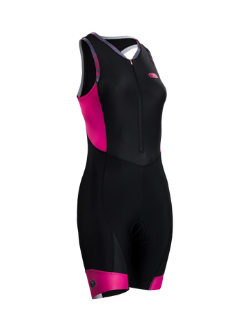 SUGOI Women's RS Tri Suit, Raspberry Sorbet (29669F)