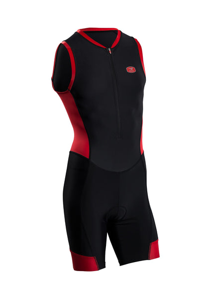 SUGOI Men's RS Tri Suit, Chili red (29669U)