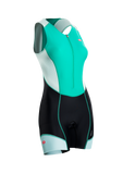 SUGOI Women's RPM Tri Suit, Light Jade (29999F)