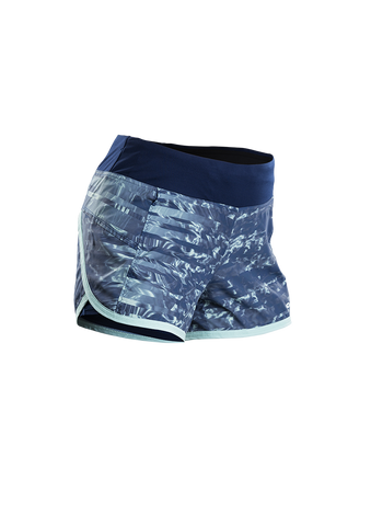 SUGOI Women's Fusion 4 inch 2 in 1 Short - Indigo/Ice Blue (30306F.484)