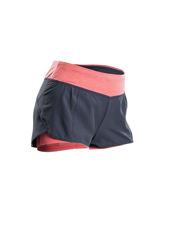 SUGOI Women's Verve Short, Electric Salmon (30320F)