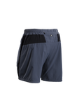 SUGOI Men's Pace 7 inch Short, Coal Blue (30352U)
