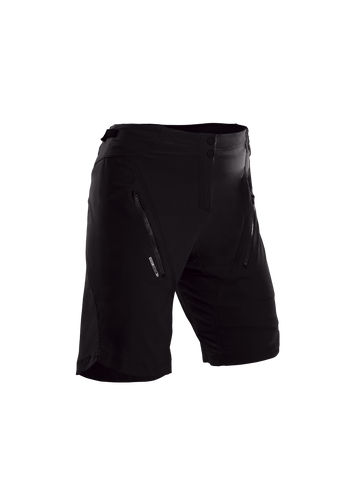 SUGOI Women's Evo X Short, Black (36330F)