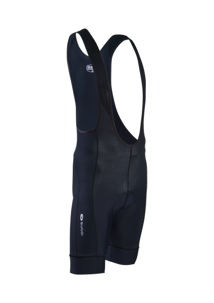 SUGOI Men's Evolution Bib Short, Black (39287U)