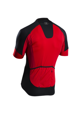 SUGOI Men's RS Pro Jersey, Chili red Alt (57317U.473)