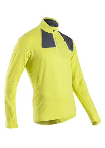 SUGOI Men's Titan Core Zip, Sulphur (60035U)