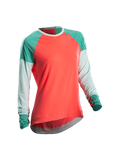 SUGOI Women's Ignite L/S - Electric Salmon (60060F)