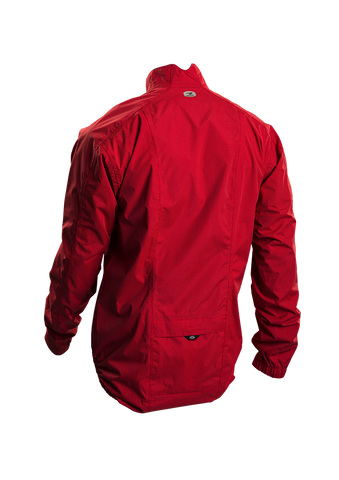SUGOI Men's Zap Bike Jacket, Chili Red Alt (70734U)