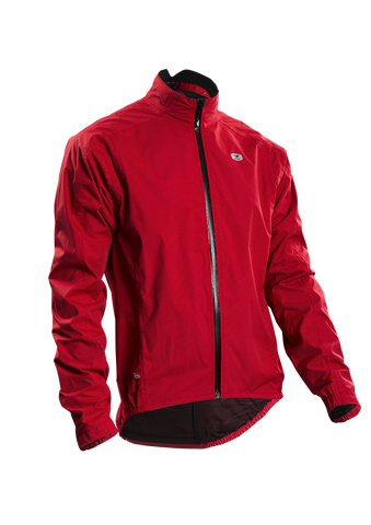 SUGOI Men's Zap Bike Jacket, Chili Red (70734U)