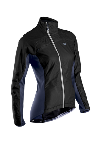 SUGOI Women's RSE Alpha Bike Jacket, Black (70907F)