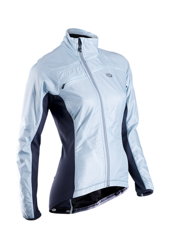 SUGOI Women's RSE Alpha Bike Jacket, Ice Blue (70907F)