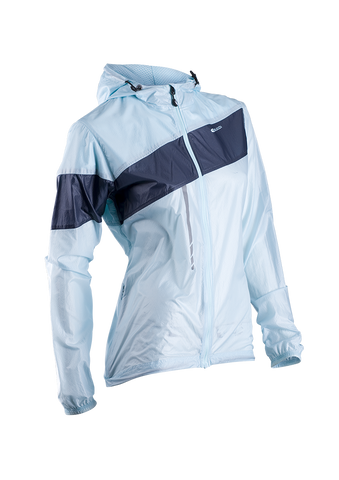 SUGOI Women's Run For Cover Jacket, Ice Blue (71201F)