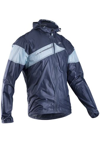 SUGOI Men's Run For Cover Jacket, Coal Blue (71201U)