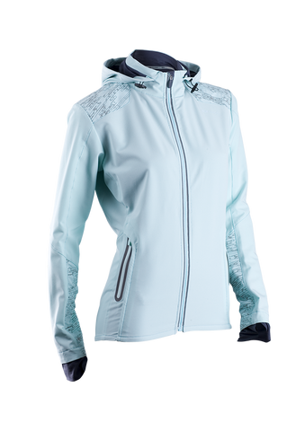 SUGOI Women's Ignite Shelter Jacket, Ice Blue (72001F)