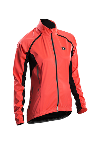 SUGOI Women's RS 120 Convertible Jacket - Electric Salmon (73202F)