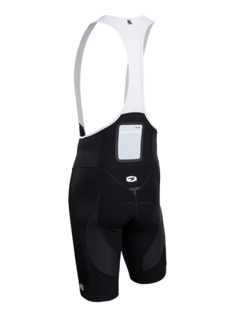 SUGOI Men's RSE Bib Short, Black Alt (39362U)