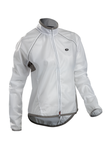 SUGOI Women's HydroLite Jacket, White (71105F)