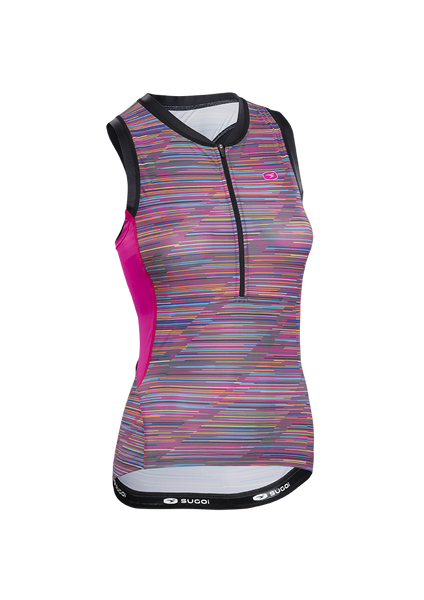 Women's RS Tri Tank - Roadmap Print