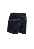 SUGOI Men's Titan 5 inch Short, Black/CoalBlue (U300530M)