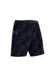 SUGOI Men's Titan 7 inch 2 in 1 Short, Black/CoalBlue (U301030M)