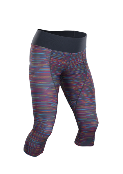 Women's Sprint Knicker - Roadmap Print