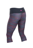 Women's Fusion Capri - Roadmap Print