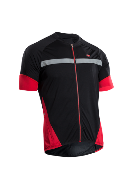 SUGOI Men's RS Century Zap Jersey, Black (U575500M)