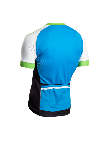 SUGOI Men's RS Training Jersey, Glacier/White Alt (U575510M)