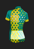 Women's Evolution Zap Jersey - Jade Dot Print