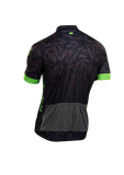 SUGOI Men's Evolution Zap Jersey, Black/BZR/Print (U576010M)