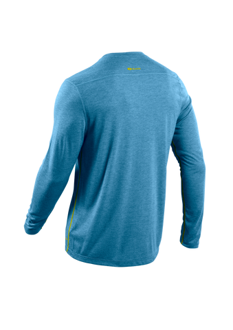 SUGOI Men's Pace L/S, Baltic Blue Alt (U600500M)