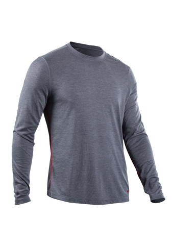 SUGOI Men's Pace L/S, Coal Blue (U600500M)