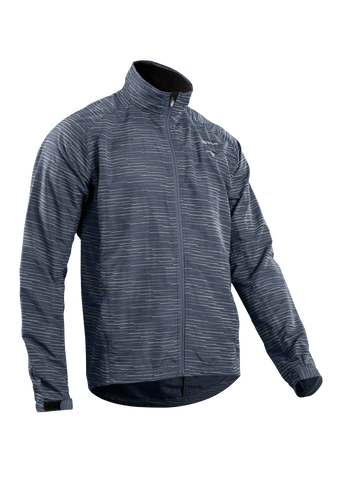 SUGOI Men's Zap Training Jacket, Coal Blue/Silver (U704000M)