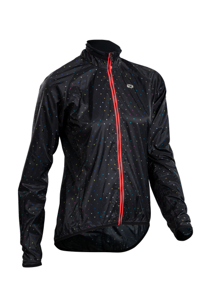 SUGOI Women's RS Jacket, Black/XO Print (U705010F)