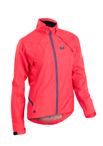 SUGOI Women's Versa Evo Jacket, Electric Salmon (U707000F)