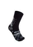 SUGOI RS Crew Sock Printed, Black/Gray scale (U941000U)