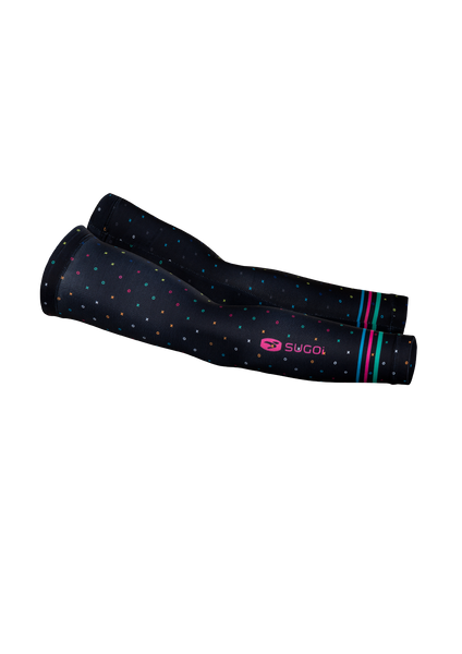 SUGOI LTD Arm Sleeve, Black/XO Print (U993000U)