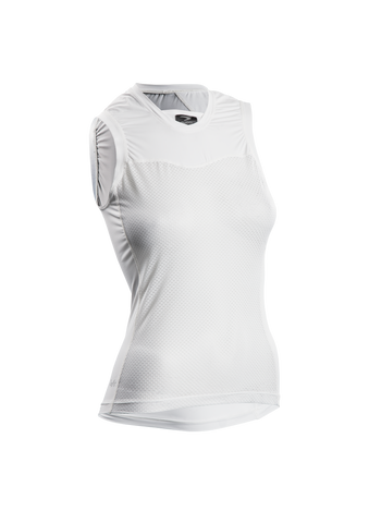 SUGOI Women's RS Base Layer S/L, White (19205F)