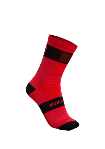 SUGOI RS Crew Sock, Chili red (94948U)