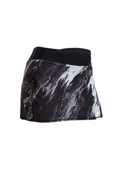 SUGOI Women's Fusion Skort, Black/Brush Print (U310020F)