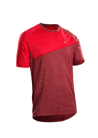 SUGOI Men's Trail Jersey, Red Dahlia (U580000M)