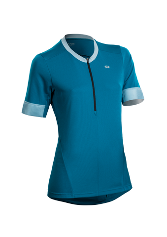 SUGOI Women's Pulse Jersey, Ocean Depth (U581010F)